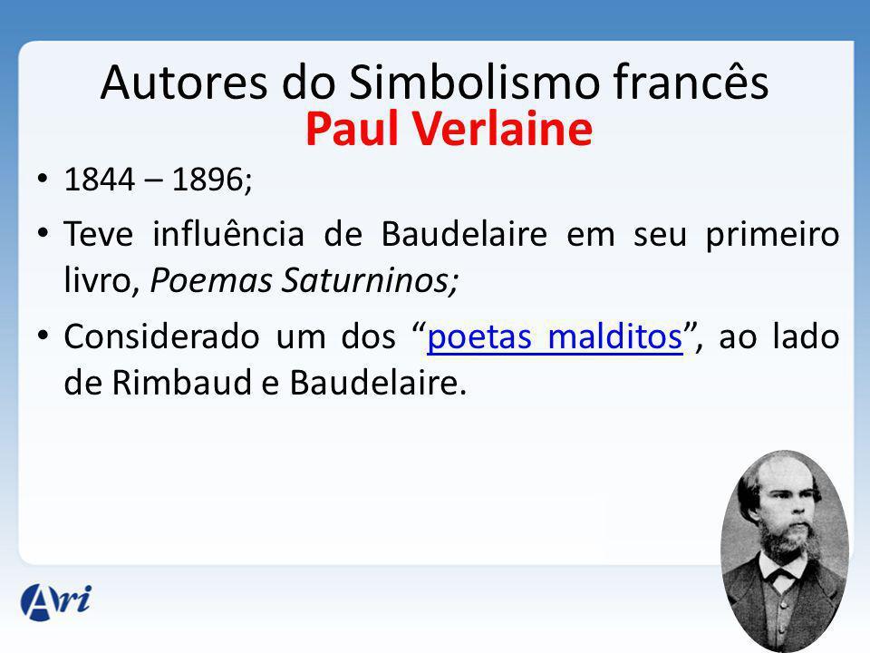 Autores do Simbolismo francês
