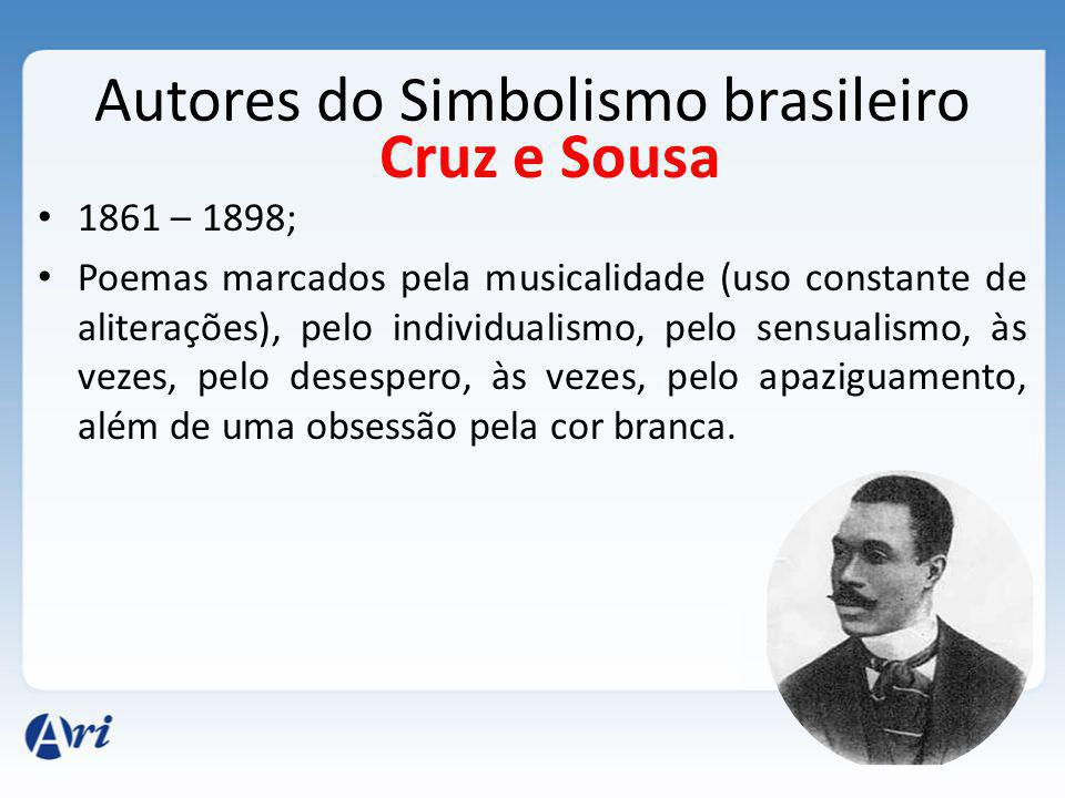 Autores do Simbolismo brasileiro