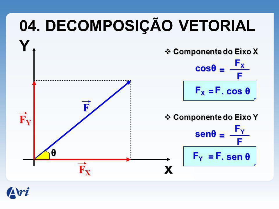 04. DECOMPOSIÇÃO VETORIAL Y