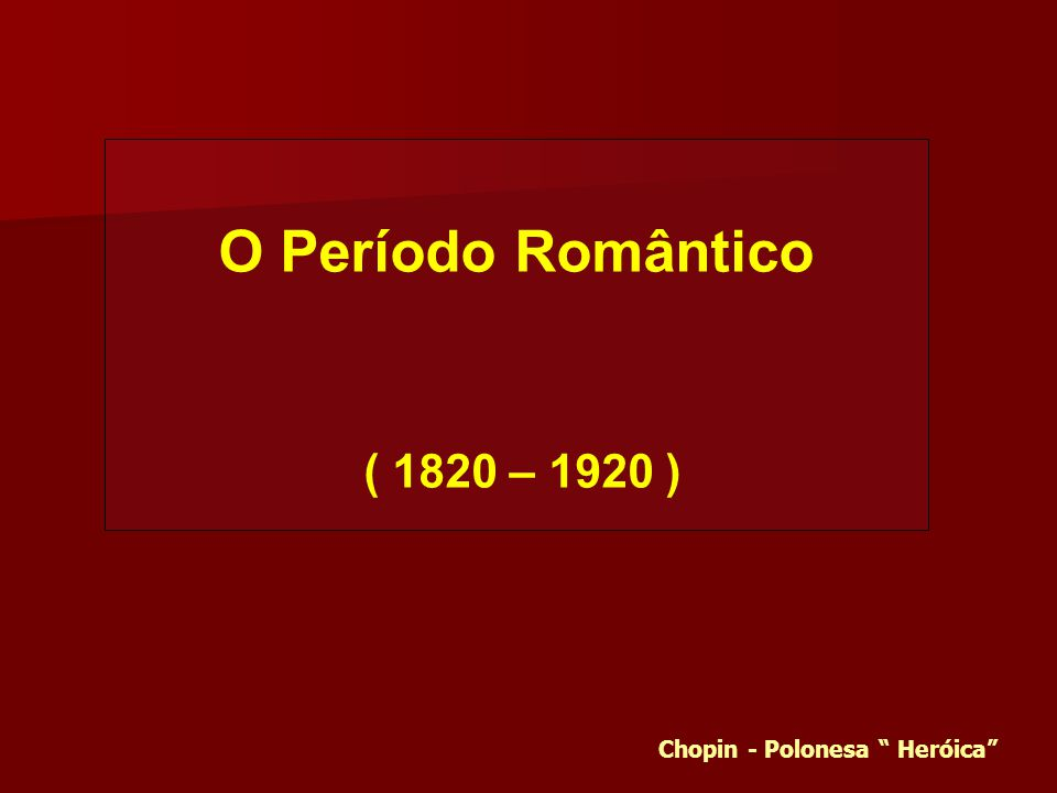 Chopin - Polonesa Heróica
