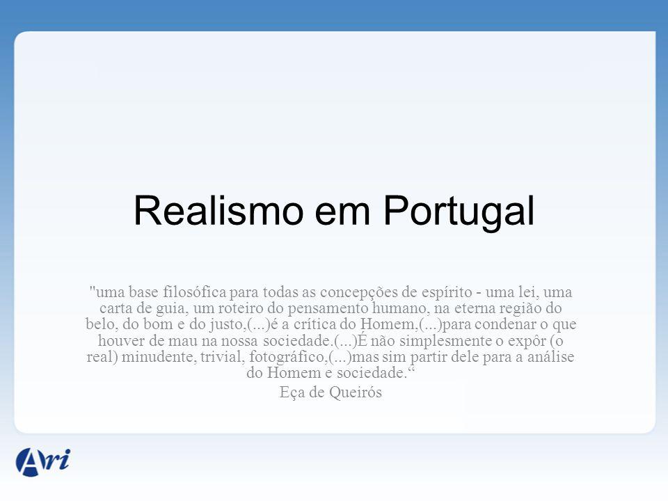Realismo em Portugal