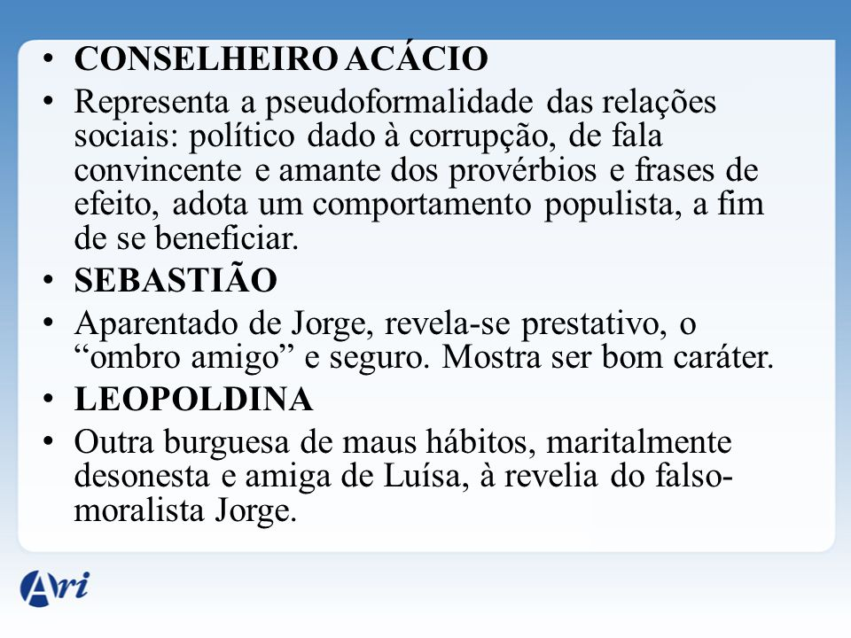 CONSELHEIRO ACÁCIO