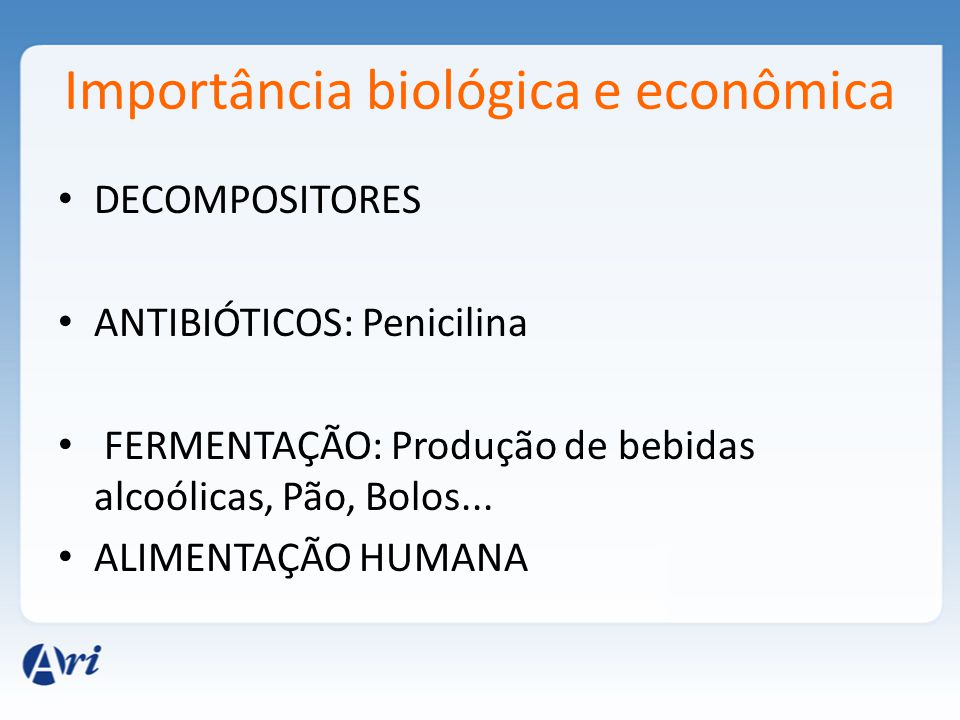 Importância biológica e econômica