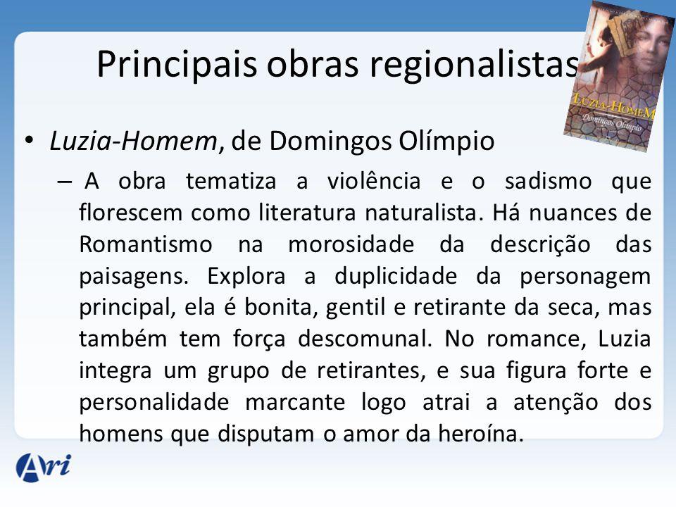 Principais obras regionalistas