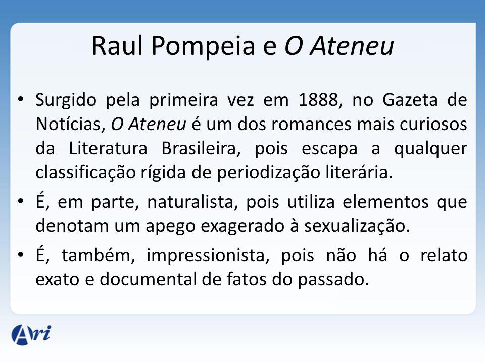 Raul Pompeia e O Ateneu
