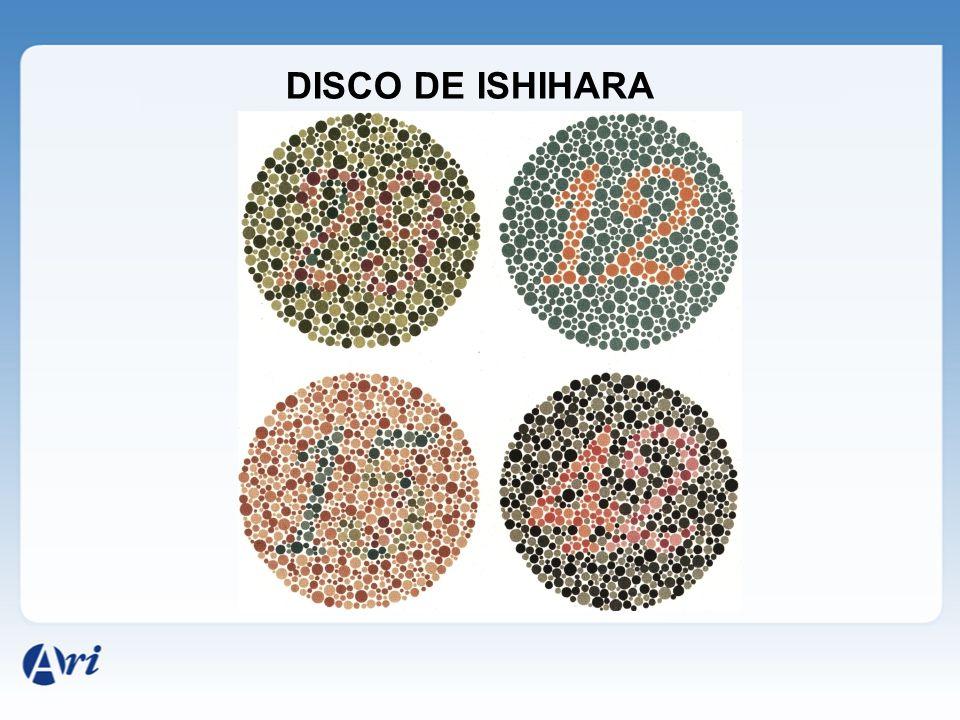 DISCO DE ISHIHARA