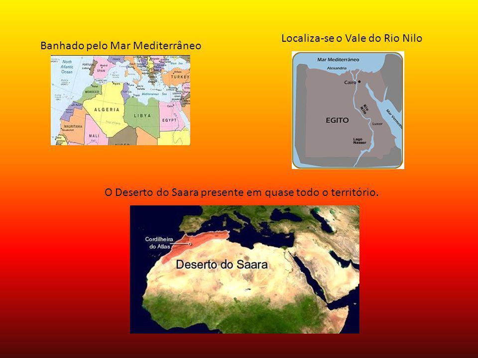 Localiza-se o Vale do Rio Nilo