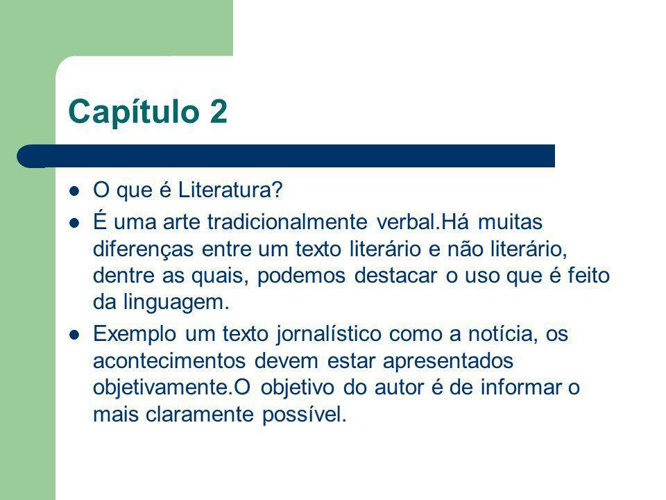 Capítulo 2 O que é Literatura