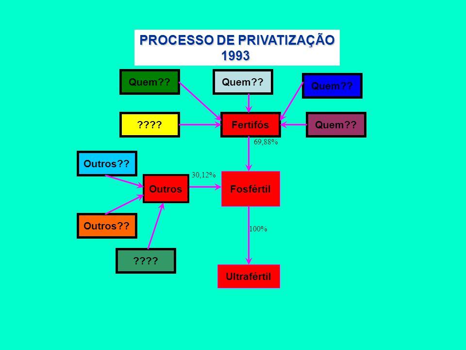 PROCESSO DE PRIVATIZAÇÃO