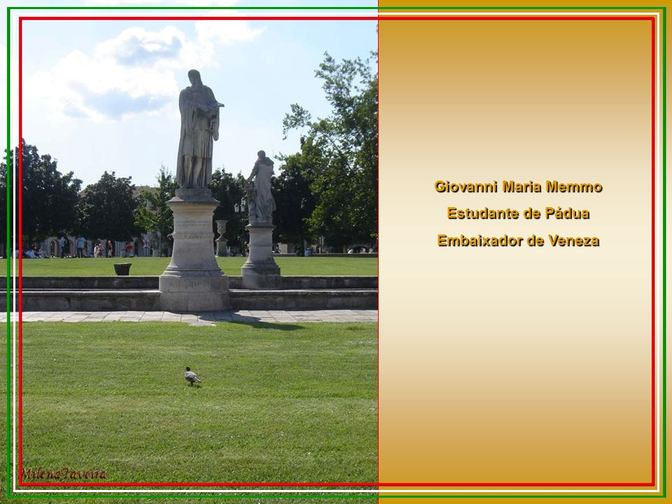 Giovanni Maria Memmo Estudante de Pádua Embaixador de Veneza
