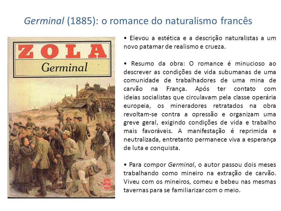 Germinal (1885): o romance do naturalismo francês