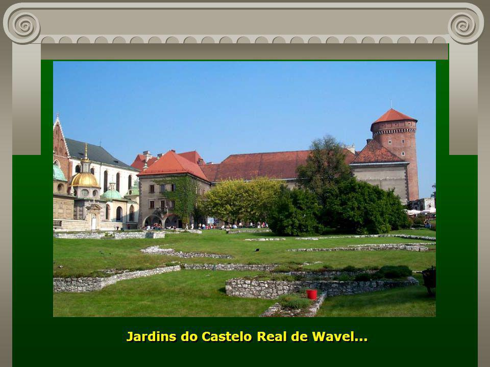 Jardins do Castelo Real de Wavel...