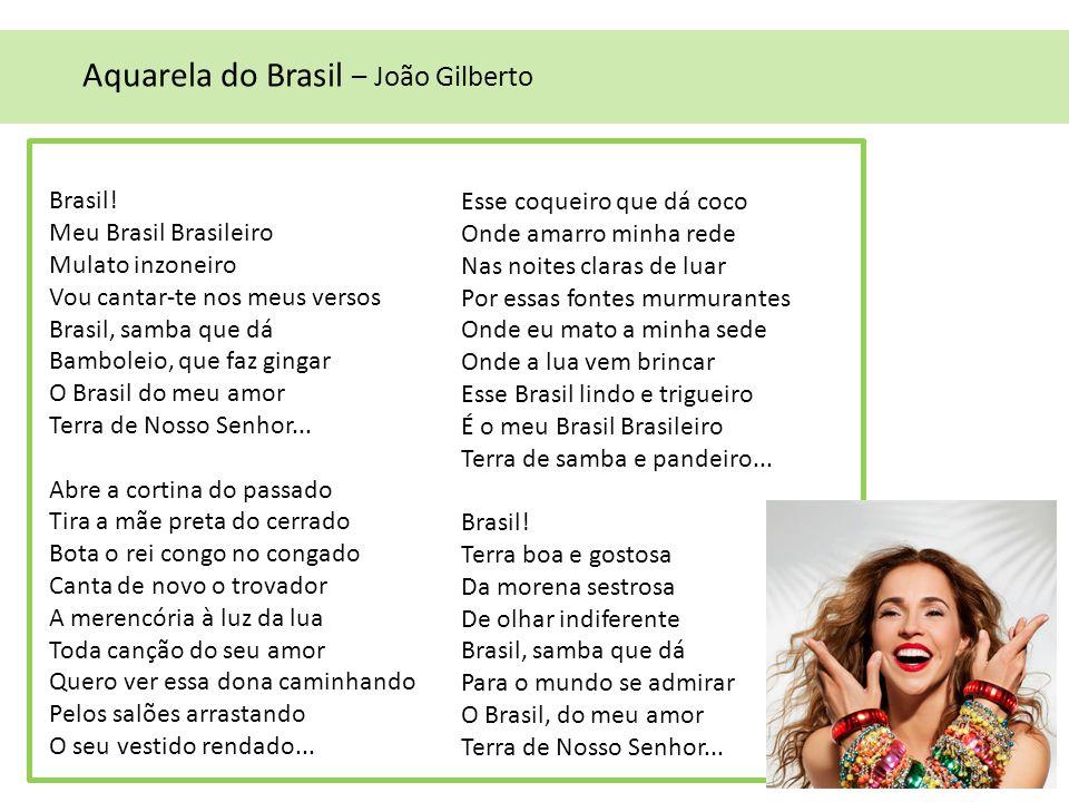 Aquarela do Brasil – João Gilberto