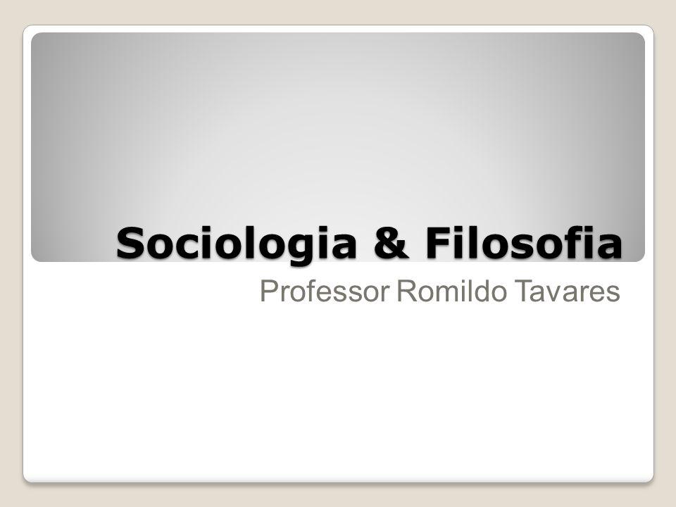 Sociologia & Filosofia