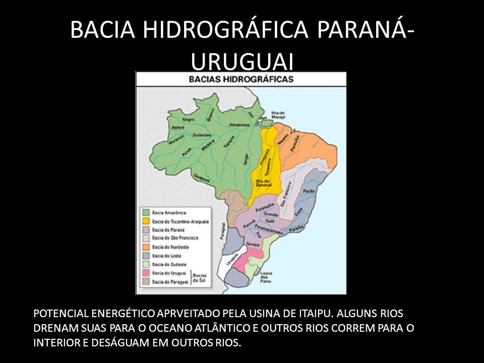 BACIA HIDROGRÁFICA PARANÁ-URUGUAI