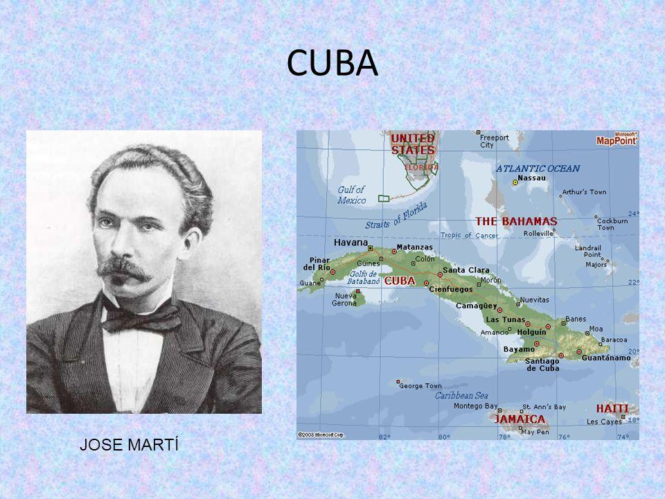 CUBA JOSE MARTÍ