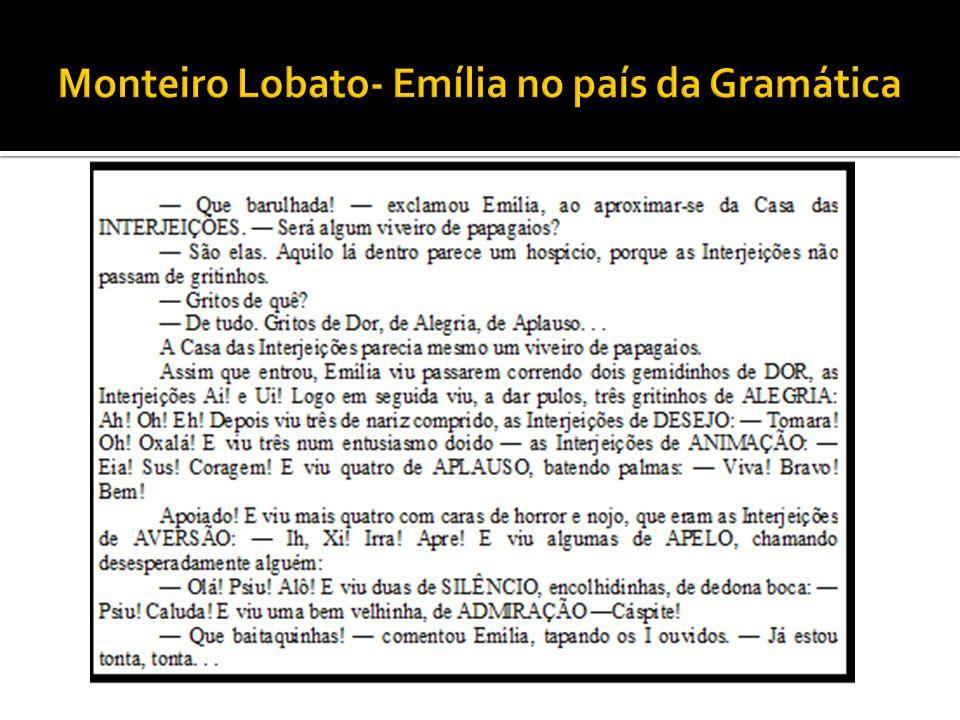Monteiro Lobato- Emília no país da Gramática