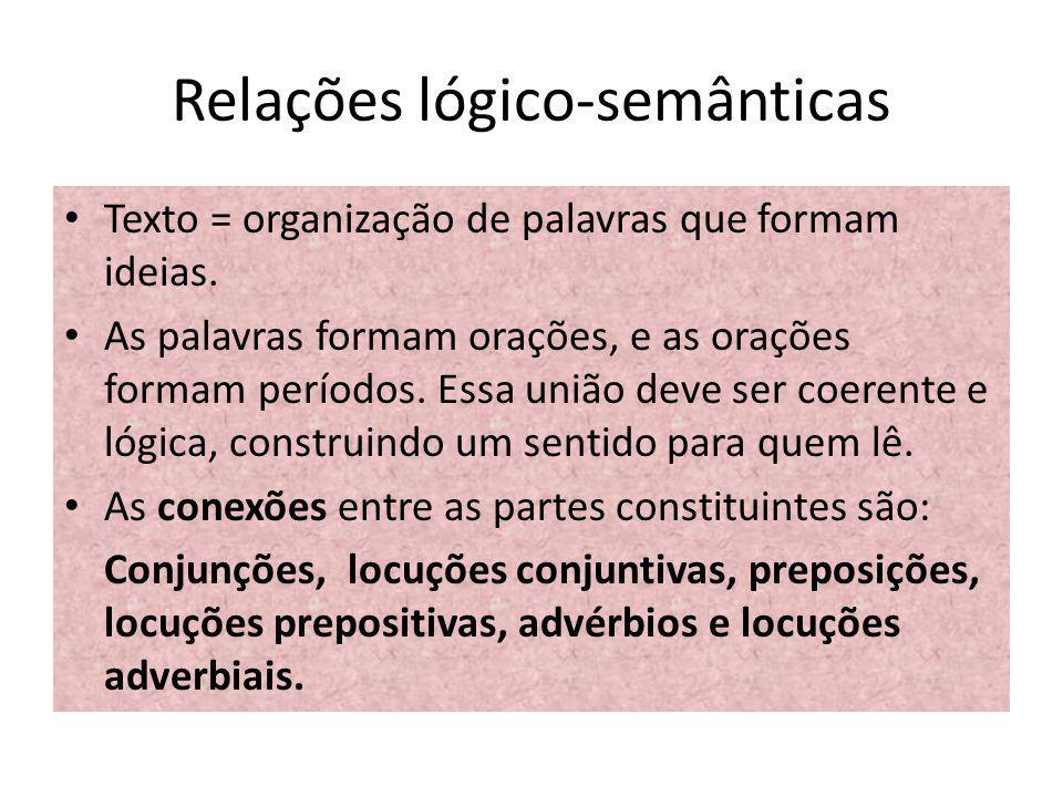 Relações lógico-semânticas