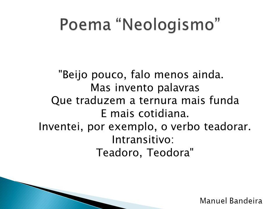 Poema Neologismo