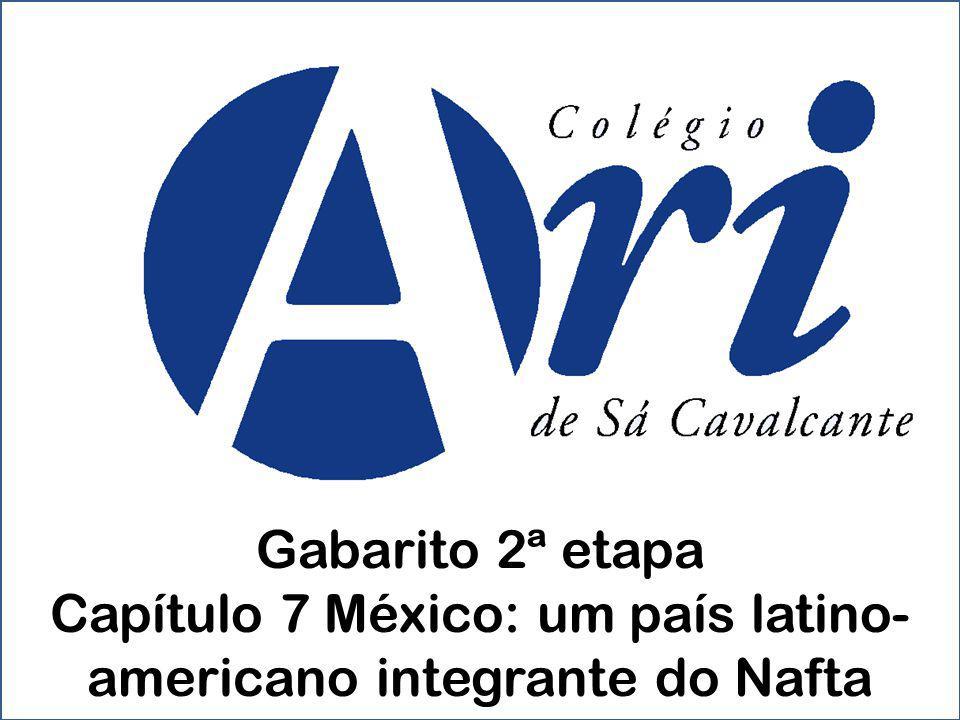 Capítulo 7 México: um país latino-americano integrante do Nafta