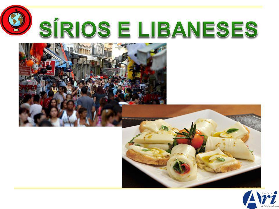 SÍRIOS E LIBANESES