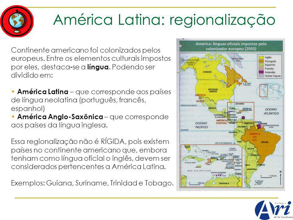 América Latina: regionalização