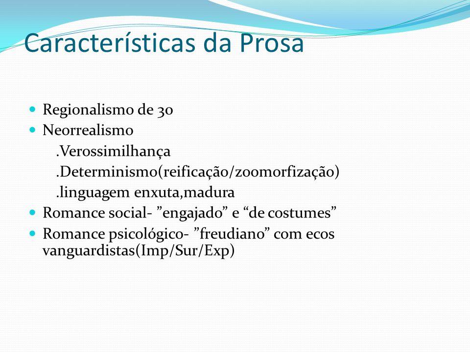 Características da Prosa