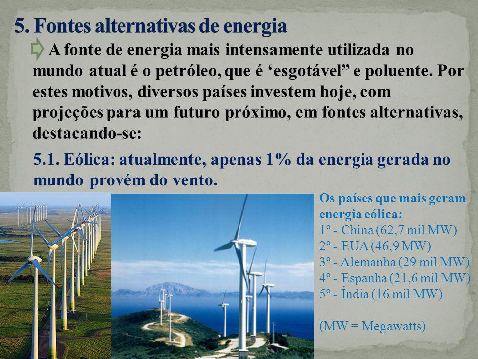 5. Fontes alternativas de energia