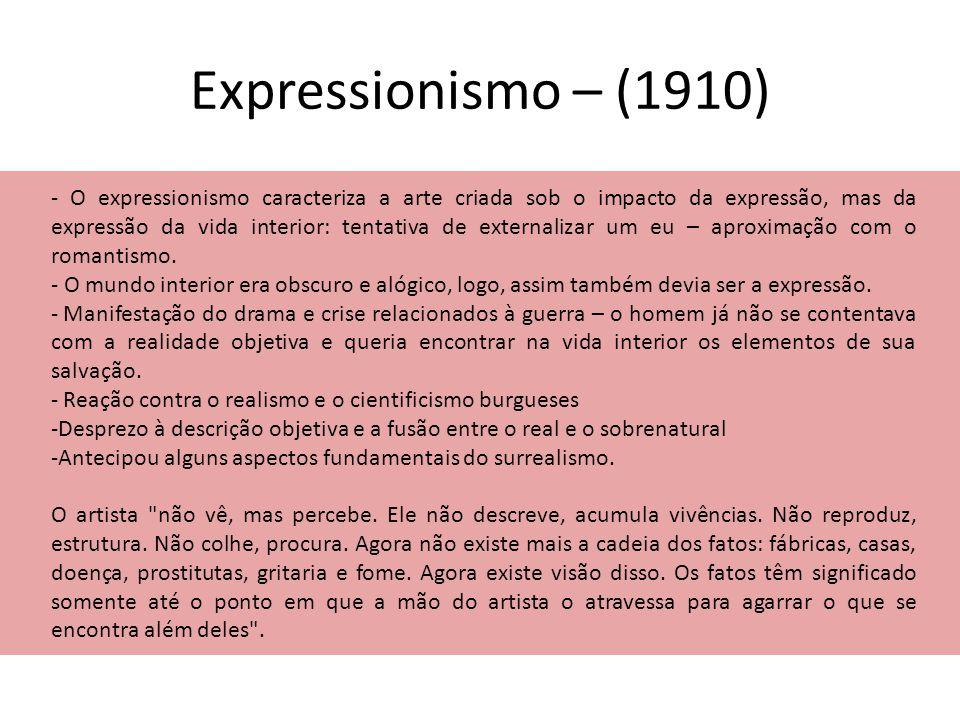 Expressionismo – (1910)