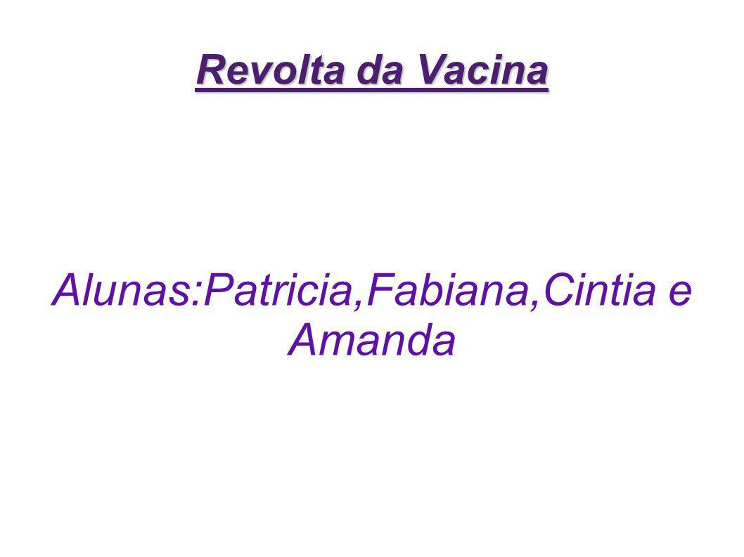 Alunas:Patricia,Fabiana,Cintia e Amanda
