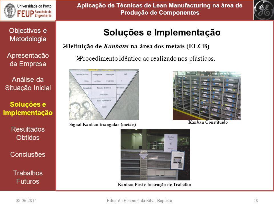 Soluções e Implementação