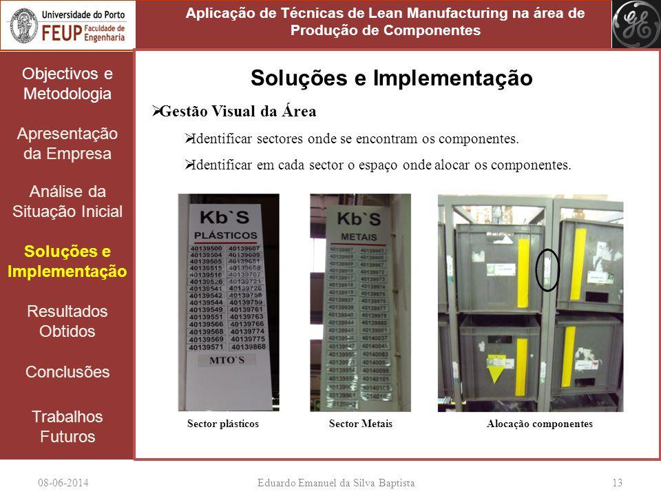 Soluções e Implementação Soluções e Implementação