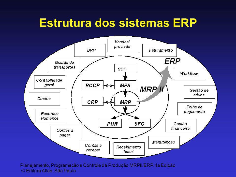 Estrutura dos sistemas ERP