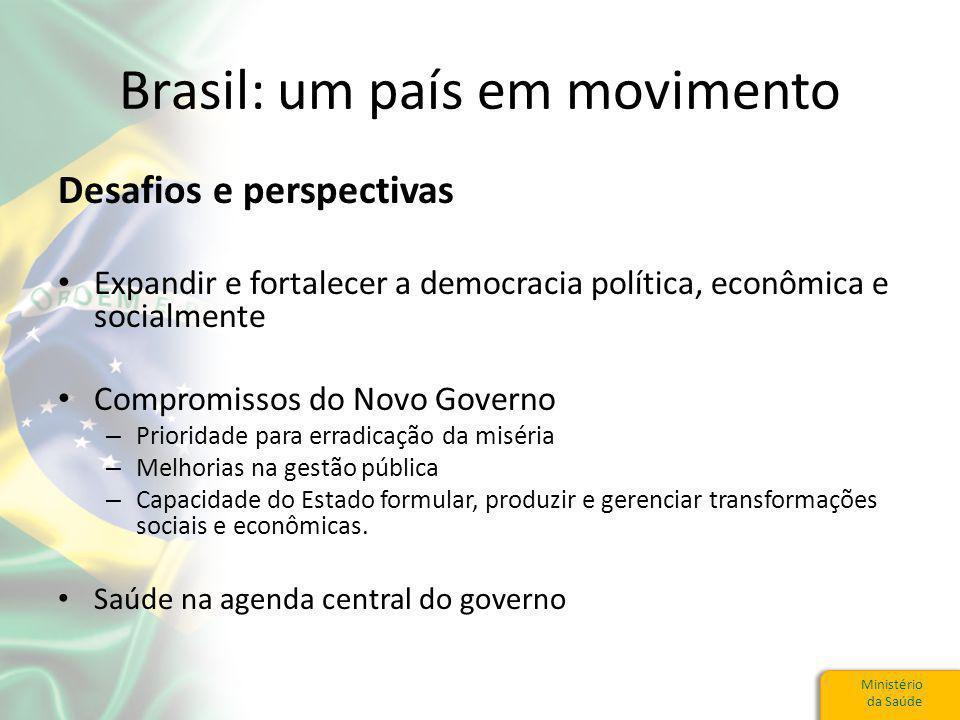 Brasil: um país em movimento