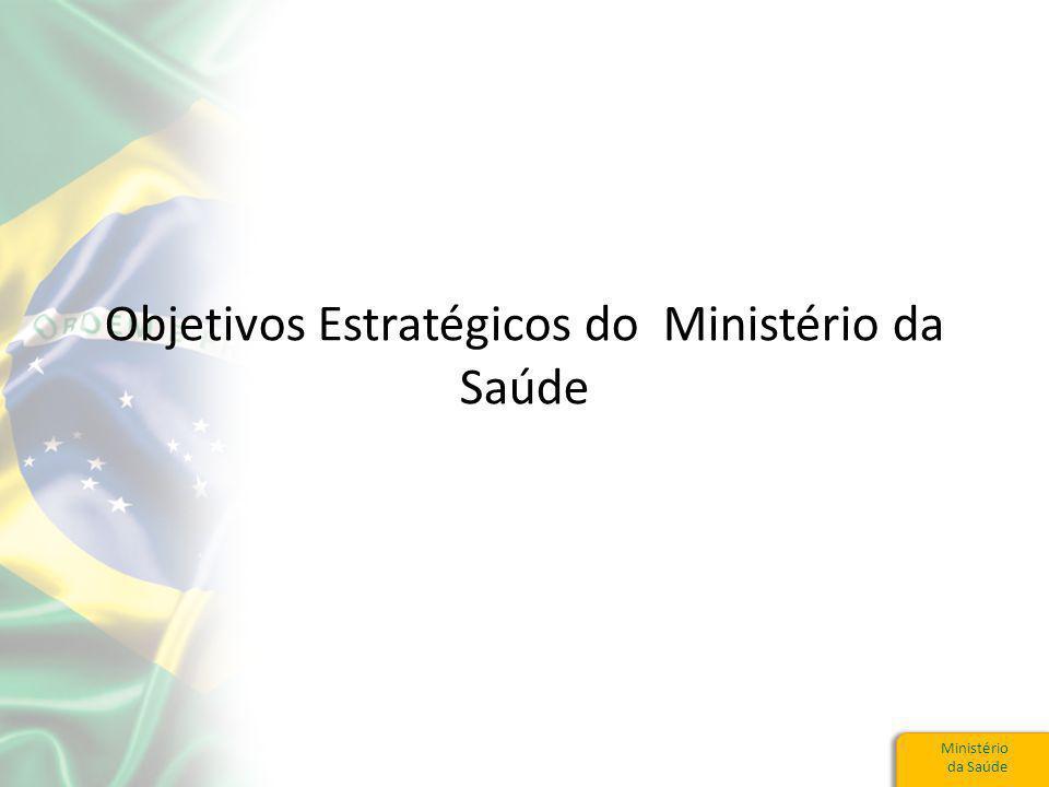 Objetivos Estratégicos do Ministério da Saúde