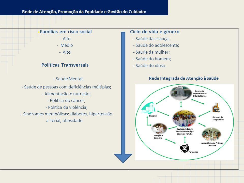 Rede de Atenção, Promoção da Equidade e Gestão do Cuidado: