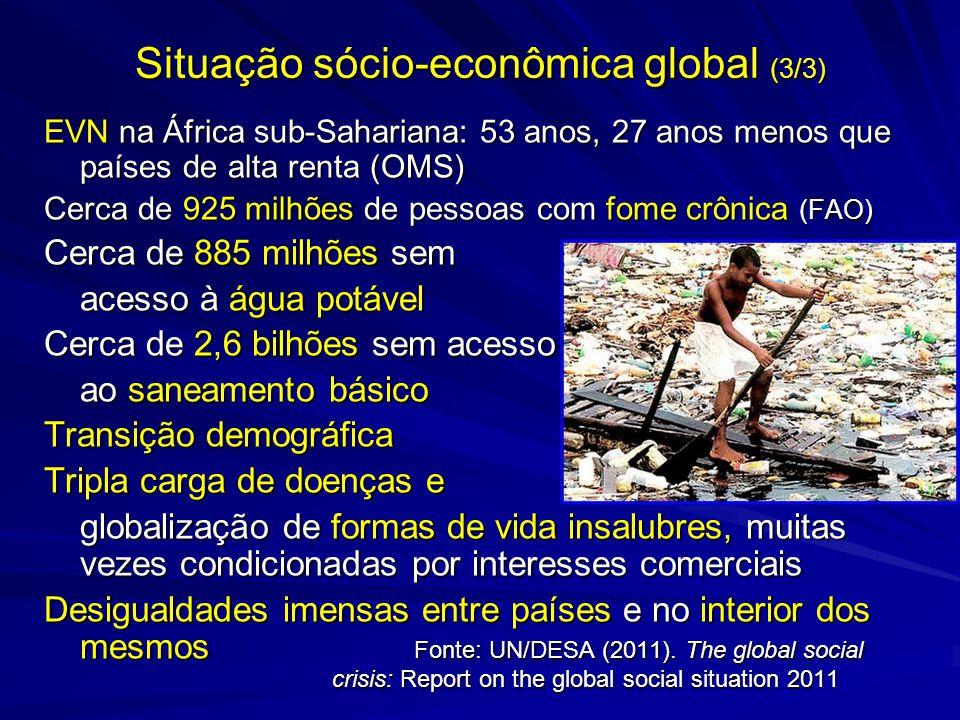 Situação sócio-econômica global (3/3)