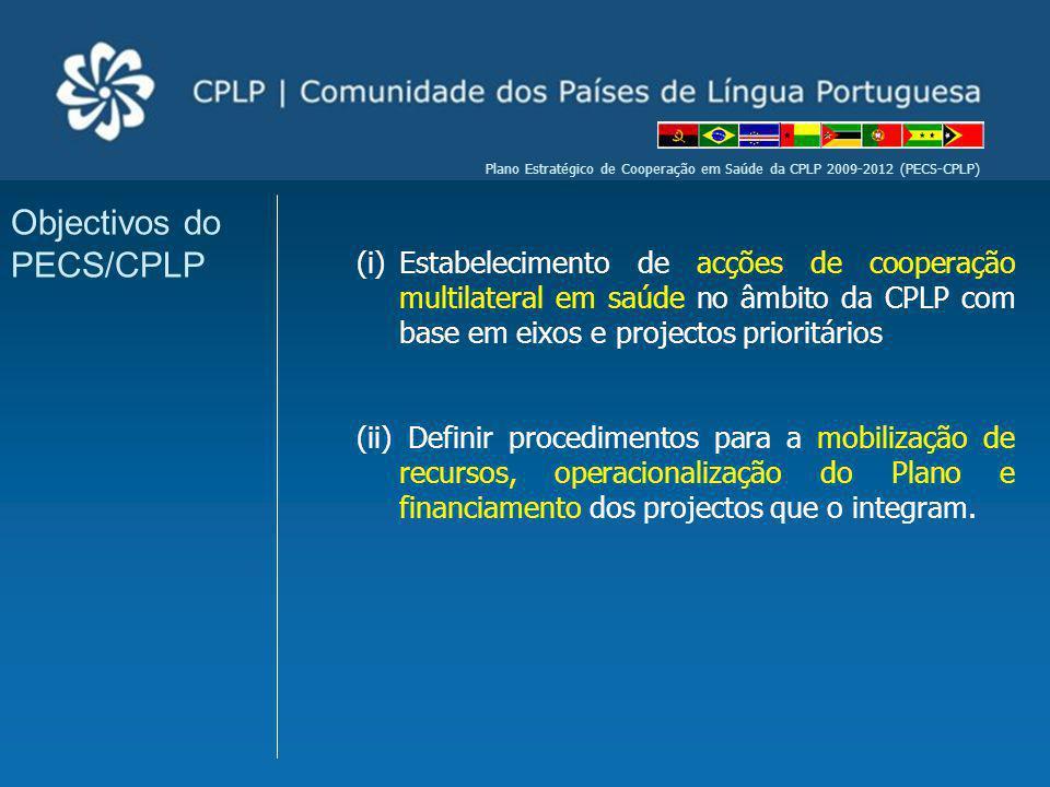 Objectivos do PECS/CPLP