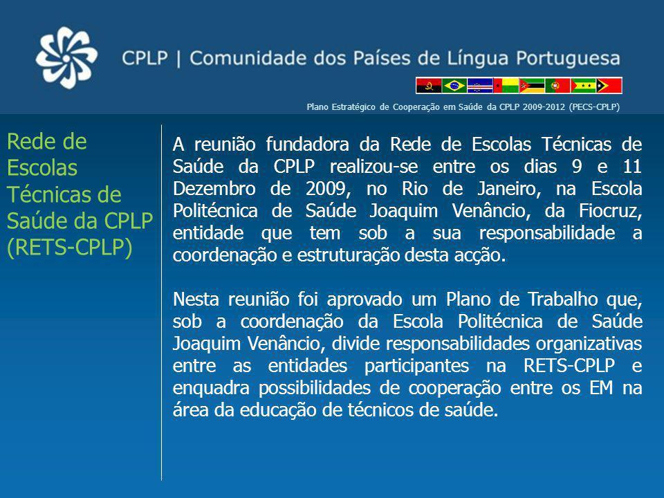 Rede de Escolas Técnicas de Saúde da CPLP