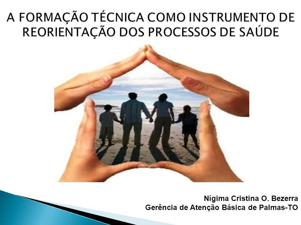 A FORMAÇÃO TÉCNICA COMO INSTRUMENTO DE REORIENTAÇÃO DOS PROCESSOS DE SAÚDE