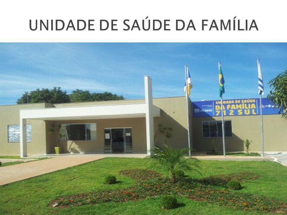 UNIDADE DE SAÚDE DA FAMÍLIA