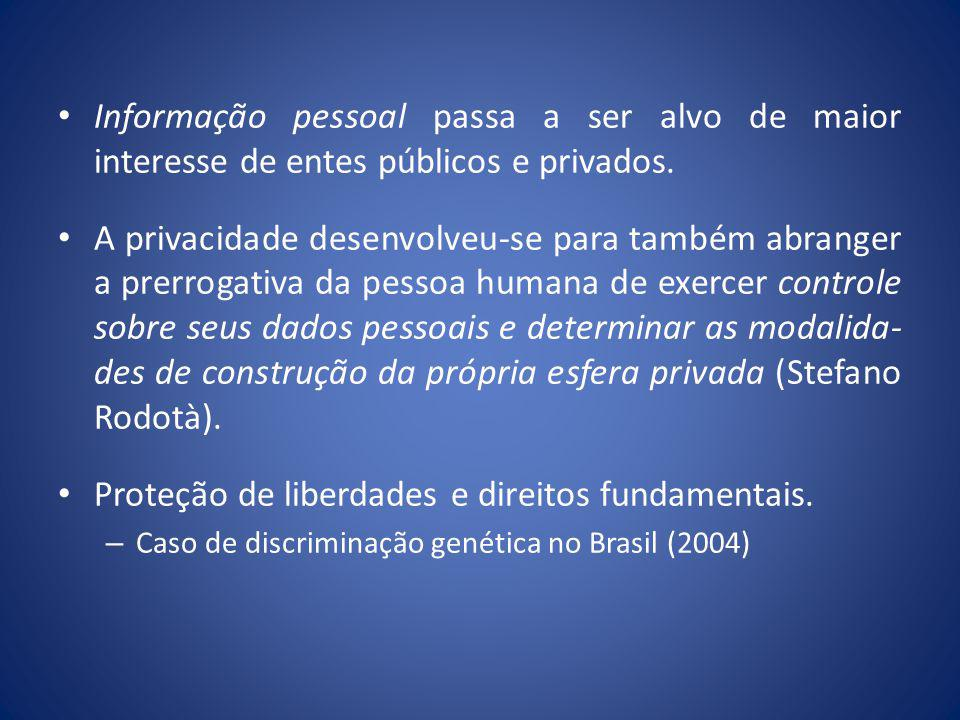 Proteção de liberdades e direitos fundamentais.
