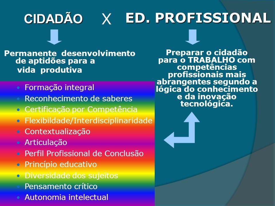 X ED. PROFISSIONAL CIDADÃO