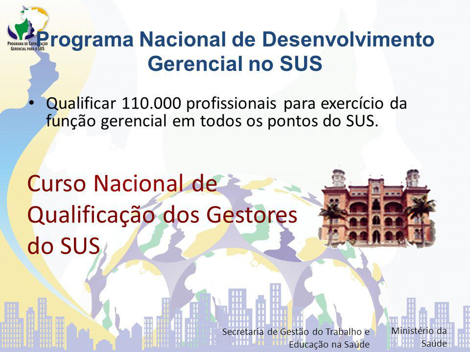 Programa Nacional de Desenvolvimento Gerencial no SUS