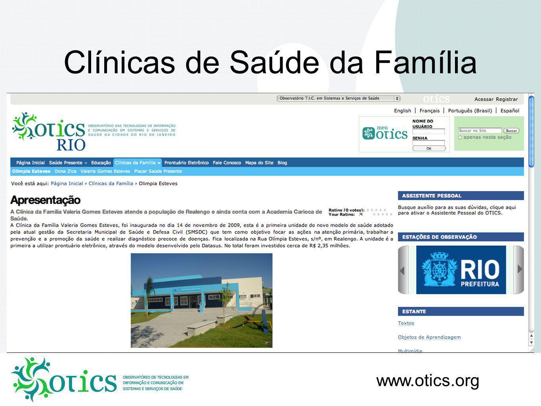 Clínicas de Saúde da Família