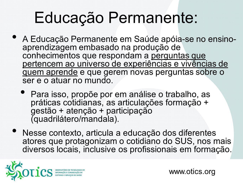 Educação Permanente: