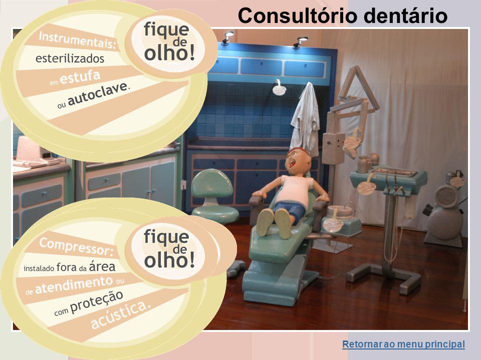 Consultório dentário Retornar ao menu principal