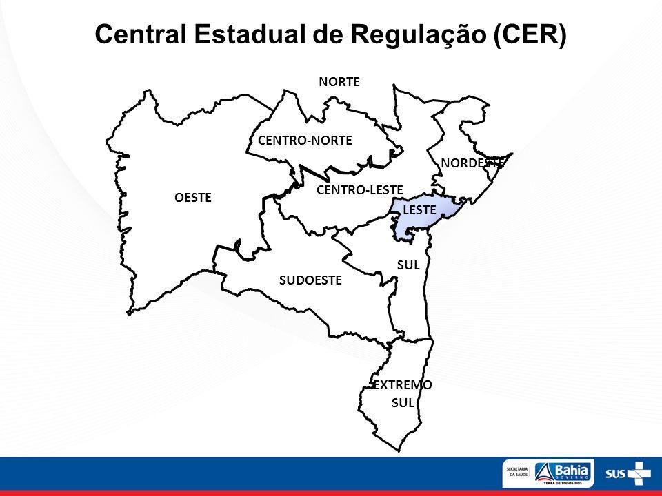 Central Estadual de Regulação (CER)