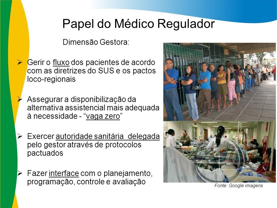 Papel do Médico Regulador