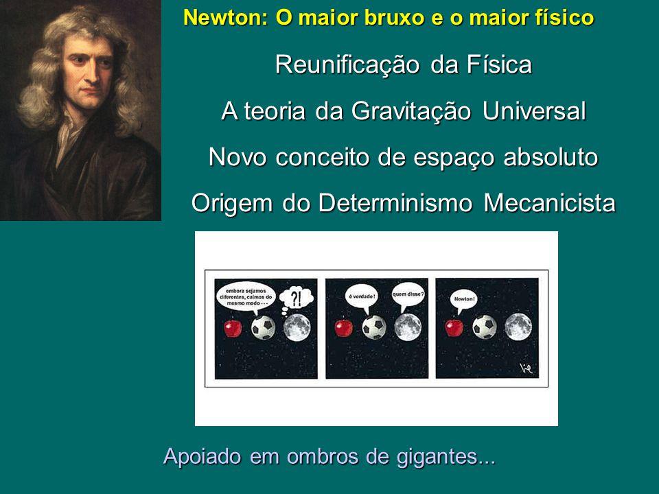 Newton: O maior bruxo e o maior físico
